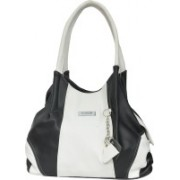 FD Fashion Shoulder Bag(Black & White, 5 L)