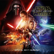 Kalender Star Wars EP7 2017: 30x30 cm