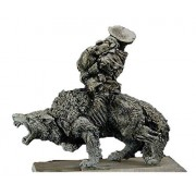 Gamezone Miniatures: Orcs & Goblins - Goblin Wolf Rider Musician (1)