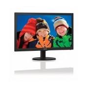 Monitor Philips 223V5LHSB LED 21.5'', FullHD, Widescreen, HDMI, Negro
