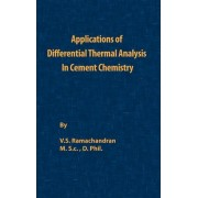 Application of Differential Thermal Analysis in Cement Chemistry by V. S. Ramachandran