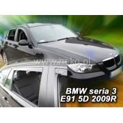 Deflektory komplet 4 ks - BMW 3 kombi (E91), 2005-12
