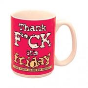 """Thank F*ck Its Friday Mug"""