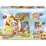 Educa 14966 - Puzzle Progressive Winnie The Pooh (6-9-12-16)