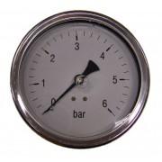 Italtecnica Nyomásmérõ óra (Feszmérõ óra) F55-2 0-6Bar Fekvõ kivitel