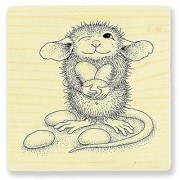 Stampendous Wood Stamp Jelly Bean Thief
