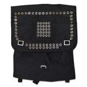 Plecak wojskowy, czarna kostka z ćwiekami SPIKE