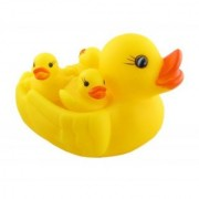 Family of duck duckling bathing toy for kids