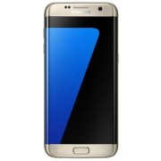 "Telefon Mobil Samsung Galaxy S7 G935FD, Procesor Octa-Core 2.3GHz / 1.6GHz, Super AMOLED Capacitive touchscreen 5.5"", 4GB RAM, 64GB Flash, 12MP, 4G, Wi-Fi, Dual Sim, Android (Auriu)"