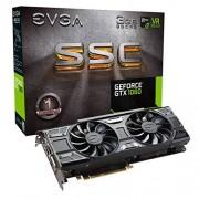 EVGA Carte graphique Nvidia GeForce GTX 1060 SSC 3 Go 192 Bits mémoire Gaming carte graphique PCI Express 3 - Noir