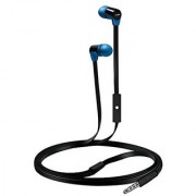 Coby CVE-104-BLU Tangle Free Stereo Earbuds Blue