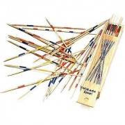 Wooden Pick Up Sticks - 6 inch - 6 Pack