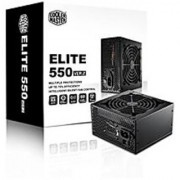 Cooler Master Elite V2 - 550W Long-Lasting Power Supply with Full Electrical Protection (OVP/UVP/OPP/OCP/SCP)