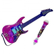 Barbie Rock 'N Royal Movie Toy Electric Guitar with Microphone