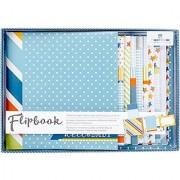 Paper House Productions FB-0002E Flipbook Interactive Album Baby Boy