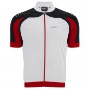 PBK Heritage Vernon Short Sleeve Jersey - Black/White/Red - XL