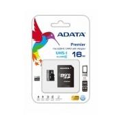 Memoria Flash Adata, 16GB microSDHC UHS-I Clase 10, con Adaptador