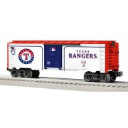 Lionel Trains American League Texas Rangers Train Car