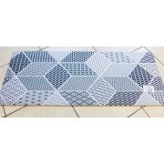Textilbetétes lábtörlő, terra/Cikksz:112099