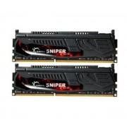 GSKILL-G.Skill Sniper 16 Go (2 x 8 Go) DDR3 2400 MHz CL11, Kit Dual Channel DDR3 PC3-19200 F3-2400C11D-16GSR-