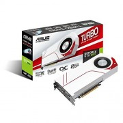 Asus GeForce Turbo-GTX960-OC-2GD5 Scheda Video da 2 GB, Bianco