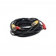 Pixnor 40M BNC Video Cable De Alimentación Para La Cámara De Circuito Cerrado De Televisión Sistema De Seguridad DVR