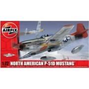 Kit aeromodele Airfix 01004 Avion North American P-51D Mustang Scara 1 72
