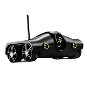 PowerLead Tspy PSC002 Wifi Controlled Spy Camera Toy Tanks Night Vision Video Remote Control Toys Tank Cameras for IPhon