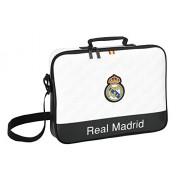 Real Madrid - Cartera extraescolares, 38 x 28 cm (Safta 611557385)