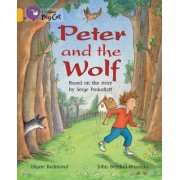 Collins Big Cat: Peter and the Wolf Workbook by Diane Redmond
