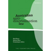 Anti-Discrimination Law by Neil Rees