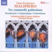 G.F. Malipiero - Tre Commedie Goldoniane (0747313088379) (1 CD)