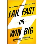 Fail Fast or Win Big: The Start-Up Plan for Starting Now by Bernhard Schroeder