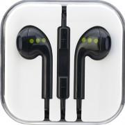 Casti Audio Cu Microfon Negru ABC Tech