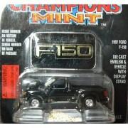 Racing Champions Mint 1997 Black Ford F-150