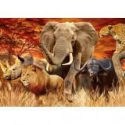 Ravensburger puzzle cele cinci mari animale, 1000 piese