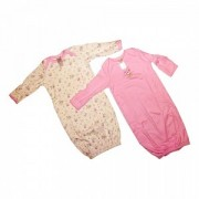 Baby Dana - Set 2 saci de dormit roz