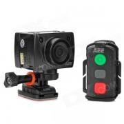 """AEE SD21 1,5 """"/ 0,6"""" HD CMOS de 8 mégapixels grand angle sportif Caméscope numérique w / TF / Mini USB - Noir"""