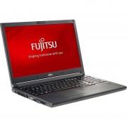 Laptop Fujitsu Lifebook E554 15.6 inch HD Intel i5-4210M 8GB DDR3 500GB+8GB SSHD Black
