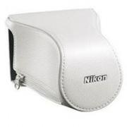 Nikon CB-N2200FA Housse pour appareil photo Nikon 1 J1 ou 1 S1 Blanc