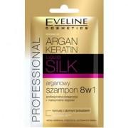 Eveline Arganowy szampon 8w1 w saszetce, 12 ml