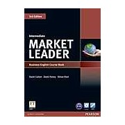 Market Leader. Intermediate. Business English Course Book with DVD