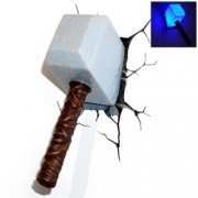 3D Light FX Thor Hammer Wall Light
