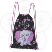 Torba za patike, Anatomic Pink Puppy
