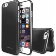 Skin Ringke Eco Slim iPhone 6 Gun metal + Folie