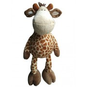 """AWESOME Stuffed Animal Giraffe with Dangling Legs 18"""" / 45 cm Bedtime Plush Toy, Baby Kids Doll Gift"""