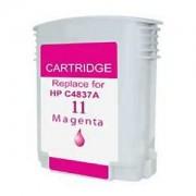 Cartus Cerneala compatibil HP 11 (C4837AE), HP11 (M@28ml) pentru HP Business Inkjet 1000/ 1100/ 1200/ 1700/ 2200/ 2230/ 2250/ 2280/ 2300/ 2600/ 2800 CP1700 Designjet 100/ 110/ 70 DeskJet 2200/ 2250 Officejet 9110/ 9120/ 913 Officejet Pro K850