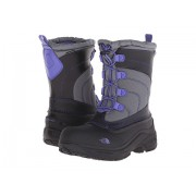 The North Face Alpenglow Lace (ToddlerLittle KidBig Kid) Griffin GreyBlue Iris