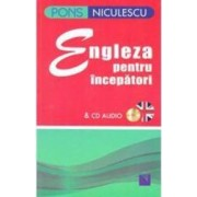 Pons Engleza pentru incepatori cu CD audio - Claudia Guderian