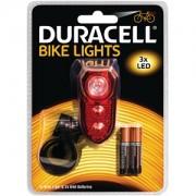 Lampe arrière de vélo 3 LED Duracell (BIK-B02RDU)
